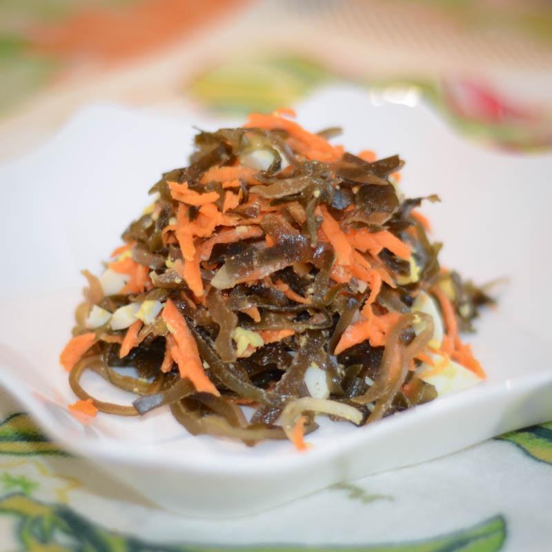 простой салат из морской капусты