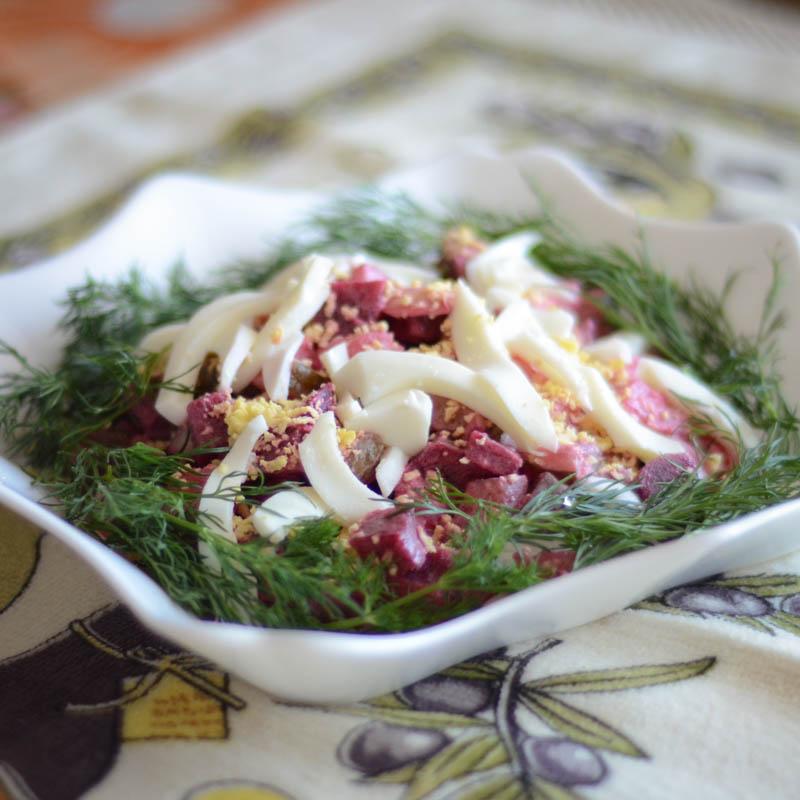 сельдь салат