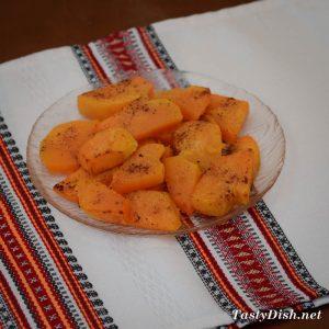 салат из тыквы с грушей