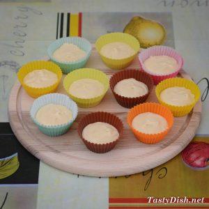 ванильные кексы