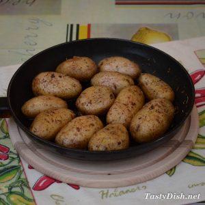 картофель запеченный нежный