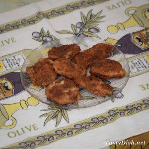 куриное филе в багете