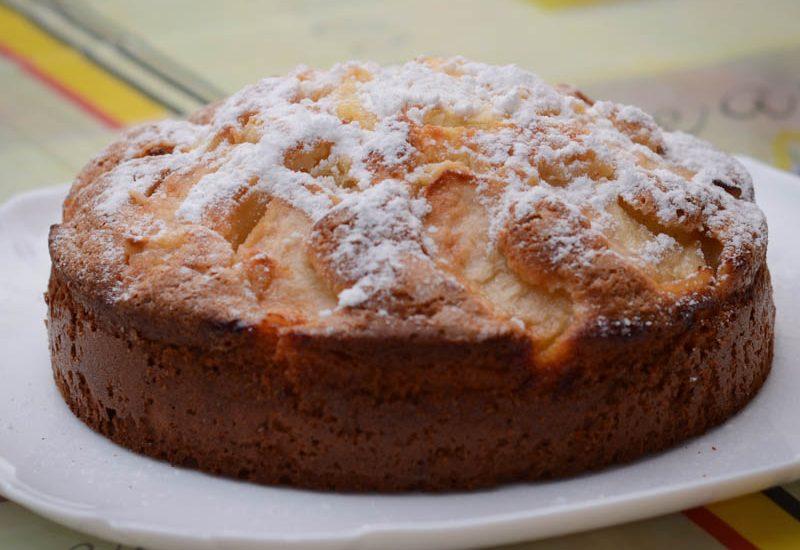 пирог с яблоками, яблочный пирог