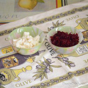 салат со свеклой и брынзой