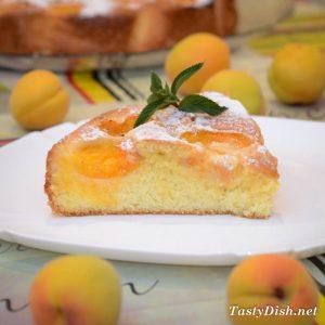 пирог с абрикосами, абрикосовый пирог