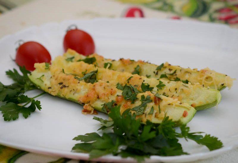 кабачки в духовке запеченные с сыром