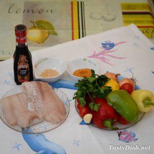 рыбный шашлык в имбирном маринаде