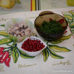 оригинальная закуска из сельди к праздничному столу