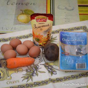 закуска ленивая шуба рецепт