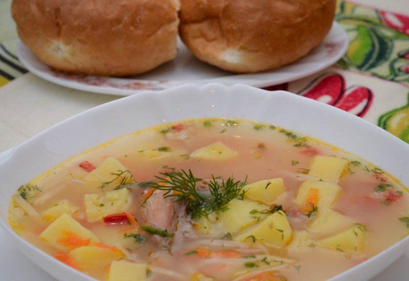 вкусный суп из кролика рецепт с фото