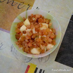вкусные кексы с изюмом и яблоком рецепт с фото