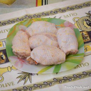 простые и вкусные рулеты из курицы с грибами рецепт с фото