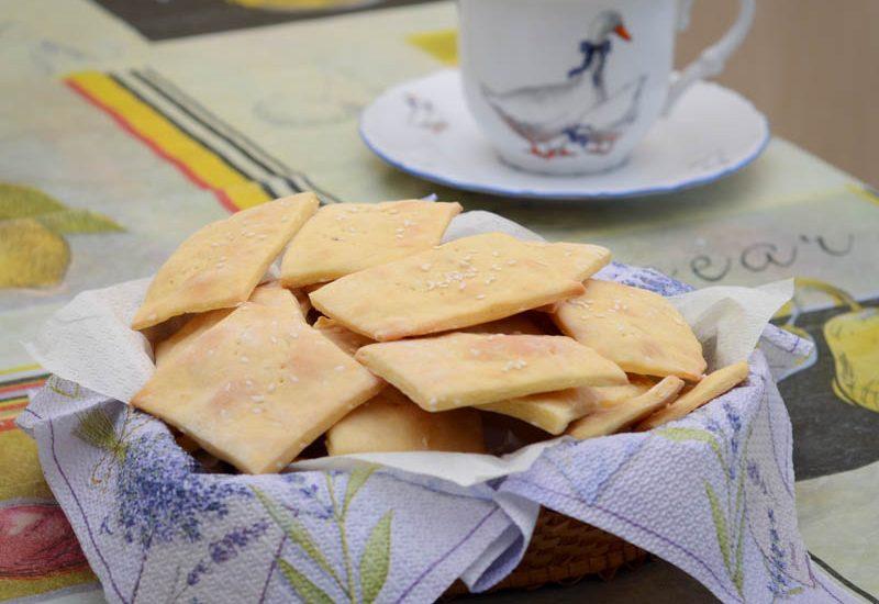 вкусное домашнее печенье крекер рецепт с фото