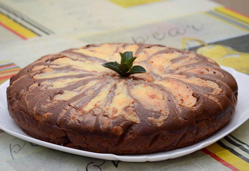 вкусный шоколадно-творожный пирог в домашних условиях