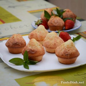 испанские кексы магдаленас
