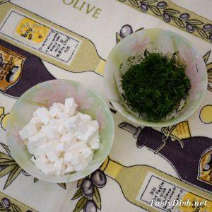 вкусный простой салат с куриным филе и сыром