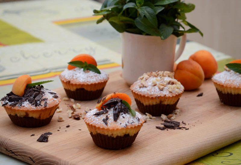 простые маффины с абрикосами рецепт с фото