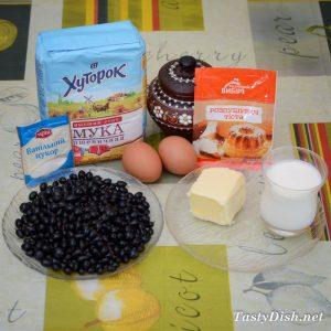 домашние маффины с черной смородиной рецепт с фото