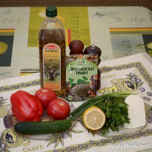вкусный овощной салат с сыром рецепт с фото