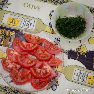 простой салат мясной с овощами