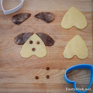 вкусное домашнее печенье собачки простое печенье рецепт с фото