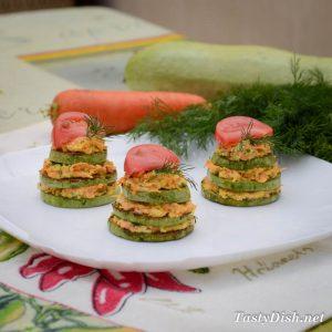 вкусная закуска из кабачков рецепт с фото