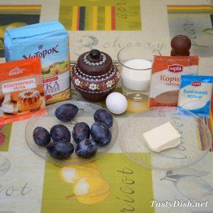 вкусные маффины со сливами рецепт с фото