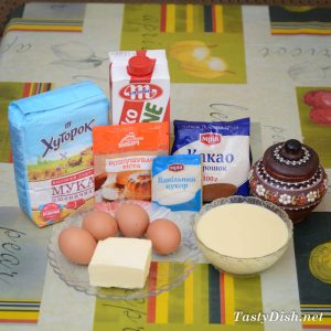 простой кекс на сгущенке рецепт с фото