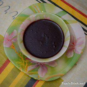 шоколадная глазурь для кекс со сгущенкой