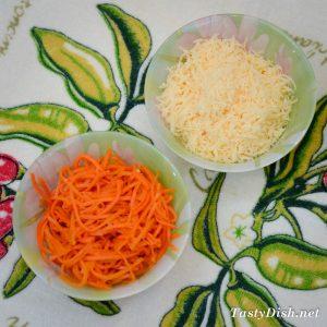 вкусный салат с киви курицей и корейской морковкой рецепт с фото