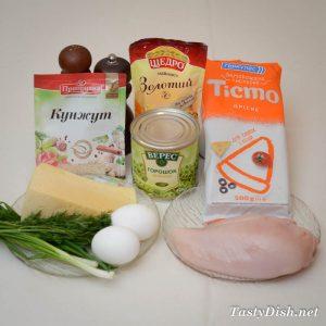 простая закуска из курицы рецепт с фото