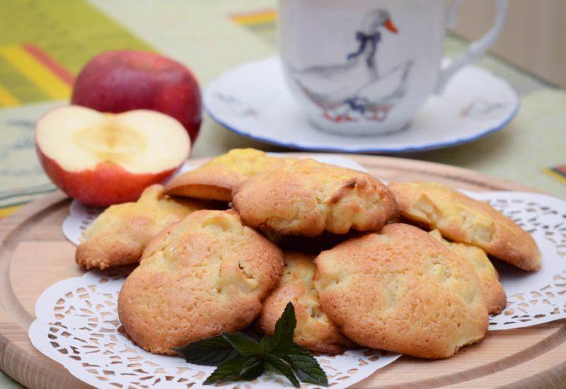 вкусное печенье с яблоками рецепт с фото