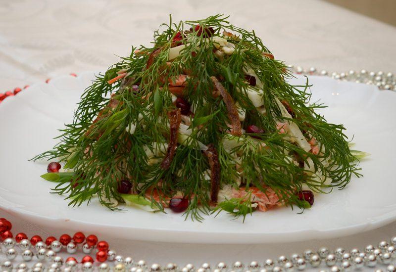 простой салат с дайконом рецепт с фото