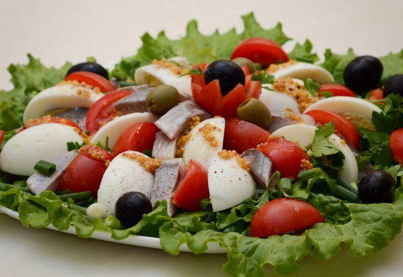 вкусный салат из сельди рецепт с фото