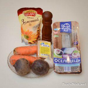 вкусная закуска из сельди со свеклой рецепт с фото