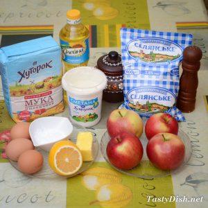вкусные блинчики с яблочной начинкой рецепт с фото пошагово