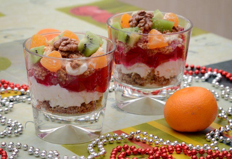 простой десерт из печенья и творога рецепт с фото