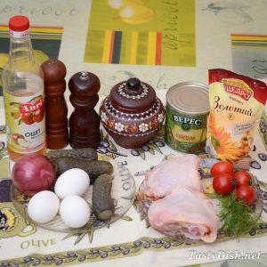вкусный салат с красной фасолью и курицей рецепт с фото пошагово