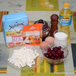 вкусные маффины с вишней рецепт с фото пошагово