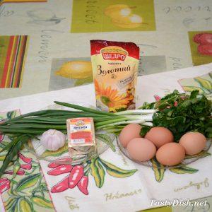 закуска из яиц и сыра рецепт с фото пошагово