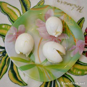 холодная закуска из яиц рецепт с фото пошагово