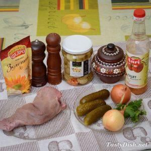 простой салат с языком рецепт с фото пошагово