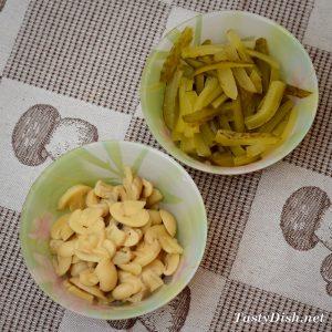 салат из языка с огурцом рецепт с фото пошагово