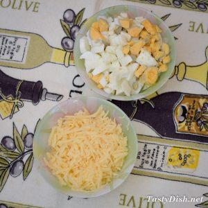 салат с крабовыми палочками и сыром рецепт с фото пошагово