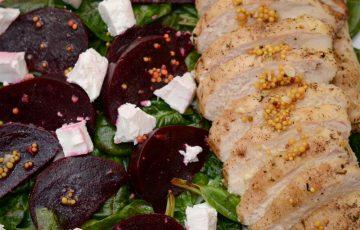 простой салат с курицей и свеклой рецепт с фото пошагово