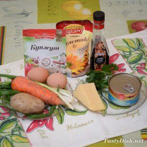 закуска из тунца рецепт с фото пошагово