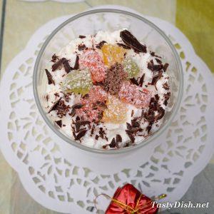 творожный десерт с мармеладом рецепт с фото пошагово