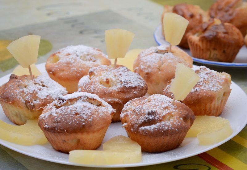 вкусные маффины с ананасом рецепт с фото пошагово