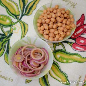 простой салат с нутом и свеклой рецепт с фото