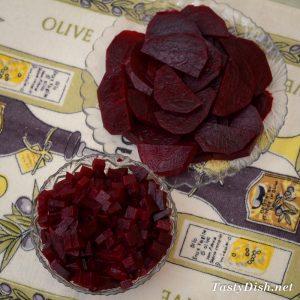 вкусный салат со свеклой черная роза рецепт с фото пошагово